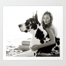 Herb Ritts Art Print