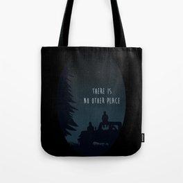 Sterek Glow Print Tote Bag