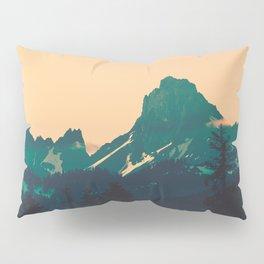 Cascade Mountains Sunset Pillow Sham