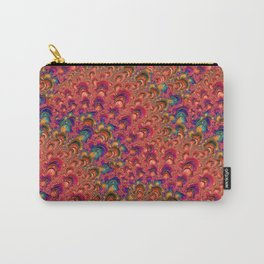 Magic Wave Pattern Carry-All Pouch