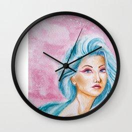 Angel of Dreamy world Wall Clock