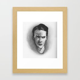 Clever Boy Framed Art Print