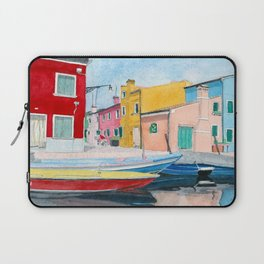 Burano Italy Laptop Sleeve
