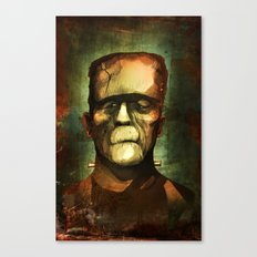 Monster Canvas Print