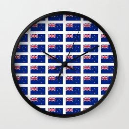 Flag of new zealand -zealand,New Zealander,Kiwi,wellington,Auckland. Wall Clock