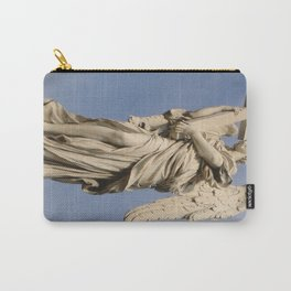 Bernini's angel with cross Carry-All Pouch