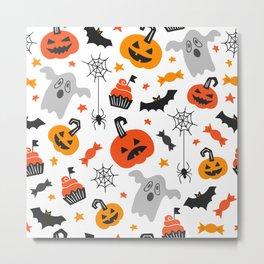 Cute Halloween Metal Print