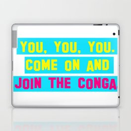 Everybody Conga!  Laptop & iPad Skin