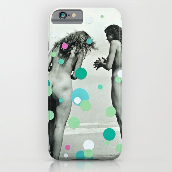 Chasing Bubbles iPhone & iPod Case