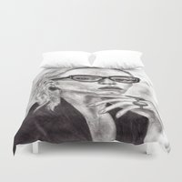 daria Duvet Covers featuring Daria by Yuval Ozery