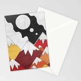 Three Moon Mounts Stationery Cards