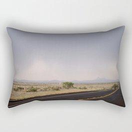 Road to Marfa 2 Rectangular Pillow