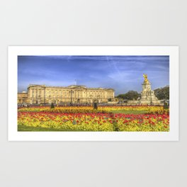 Buckingham Palace London Panorama Art Print