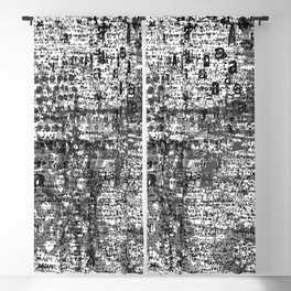Love Graffiti Blackout Curtain