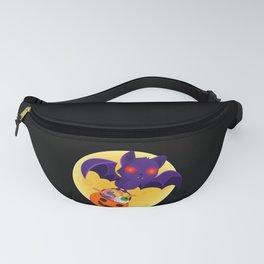 Vampire Bat With Full Moon design Gift For Halloween Fanny Pack