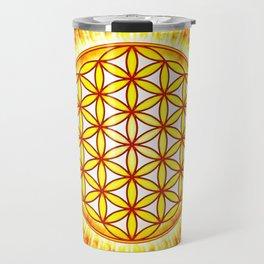 Flower Of Live Sun III Travel Mug