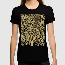 Gold Fan Coral T-shirt