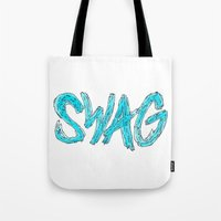 swag Tote Bags featuring Swag by Creo