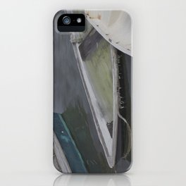 Cape Porpoise Dories iPhone Case