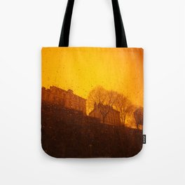 Stockholm the heights of ( Söder ) south Tote Bag