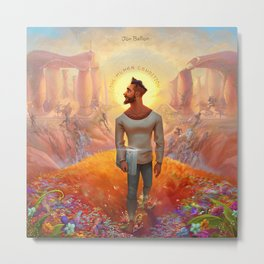 jon bellion album 2020 dede1 Metal Print