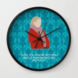 The Empty Hearse - Mary Morstan Wall Clock