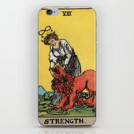 08 - Strength iPhone Skin
