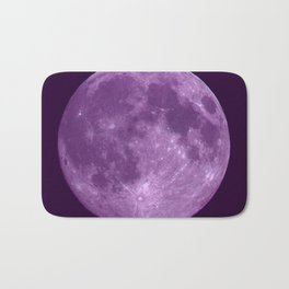 Purple Moon Bath Mat