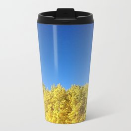contrast Metal Travel Mug