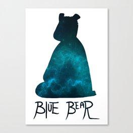 Bleubear Canvas Print