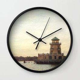 Biloxi Lighthouses Wall Clock