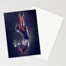 DARK FOOTBALL Stationery Cards