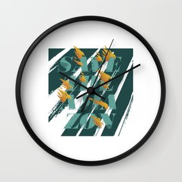 Save the Amazon Wall Clock