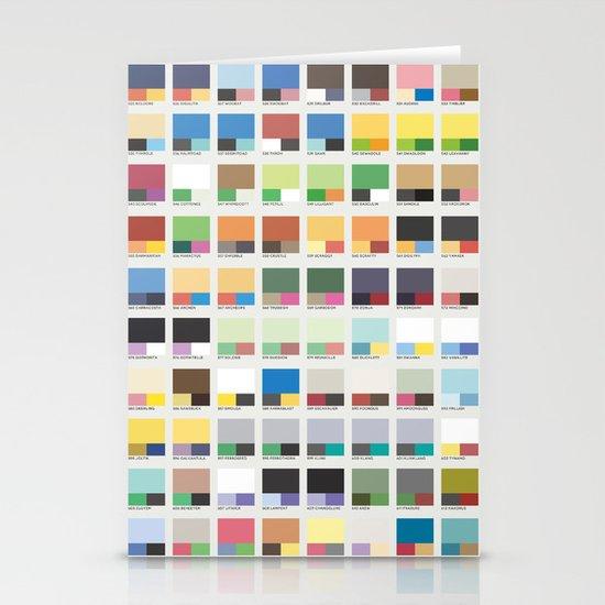 Poke-Pantone 5 (Unova Region) Stationery Cards