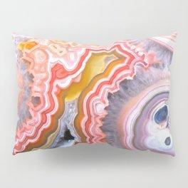 Agate Gem slice Pillow Sham