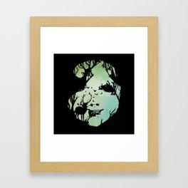 spirit of woods Framed Art Print
