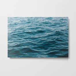 Ocean Waters Metal Print