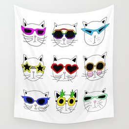 Cool Cats Wall Tapestry