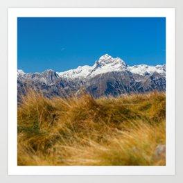 Majestic mountain Triglav, Slovenia Art Print