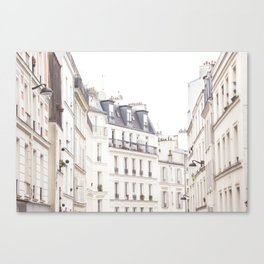 Slightly Paris Canvas Print