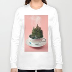 Hot cup of tree Long Sleeve T-shirt