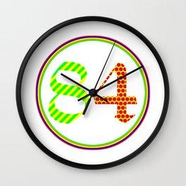 OLD ENGLISH PoP 1984 Wall Clock