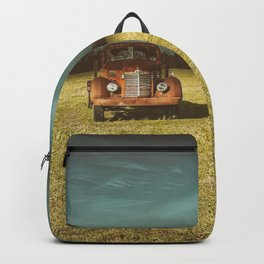 Lost In Time Truck Travel Backpack