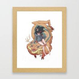 No MORE LOVE Framed Art Print