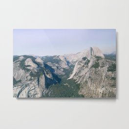 Glacier View, Yosemite Metal Print