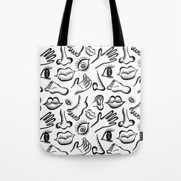 Face It, I'm All Mixed Up Tote Bag