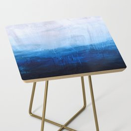 All good things are wild and free - Ocean Ombre Painting Side Table