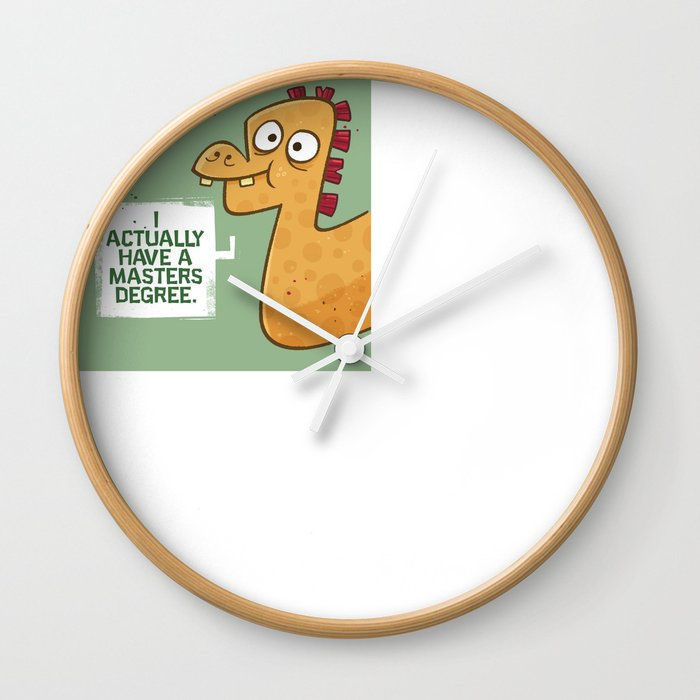Masters Degree Wall Clock