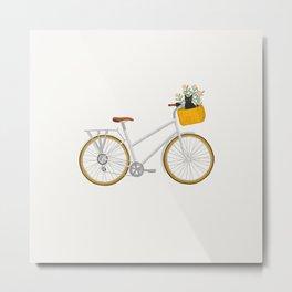 Ride through Vondelpark Metal Print