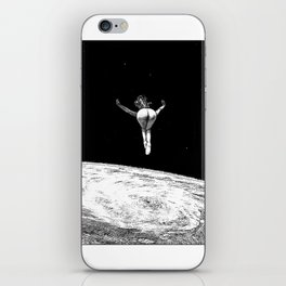asc 579 - Le vertige (Gaze into the abyss) iPhone Skin